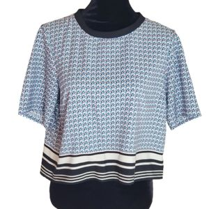 Forever 21 Crop Top Blouse